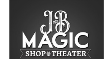 J and B Magic Shop and Theater logo